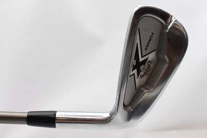 Callaway X Forged Single Iron 5 Iron Aerotech SteelFiber i110 Steel Stiff Right Handed 38 in