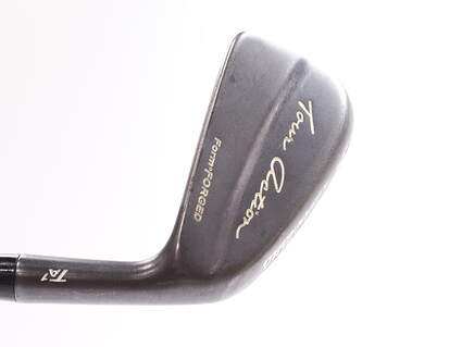 Cleveland TA1 Gunmetal Form Forged Single Iron 4 Iron True Temper Dynamic Gold S300 Steel Stiff Right Handed 38.5 in
