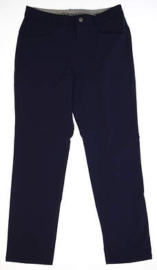New Mens 2018 Puma Stretch Utility Golf Pants 32x32 Peacoat MSRP $90 576573 02