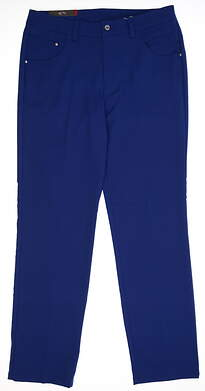 New Mens 2018 Puma 6 Pocket Golf Pants 32x32 Sodalite Blue MSRP $80 573906 16