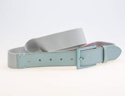 New Mens 2018 Puma Fusion Stretch Fitted Belt L/ XL Quarry MSRP $35 053315