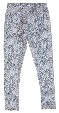 New Womens 2018 Puma Floral Tight Size Small S Quiet Shade MSRP $55 576160 01