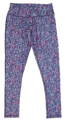 New Womens 2018 Puma Floral Golf Tights Size Small S Majesty MSRP $55 576160 02