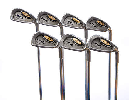Ping i3 Oversize Iron Set 4-PW Ping JZ Steel Stiff Right Handed Black Dot 38 in