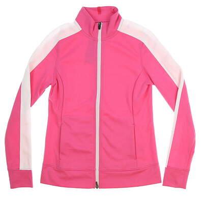 New Womens 2018 Puma T7 Track Jacket Small S Carmine Rose MSRP $70 576149 03