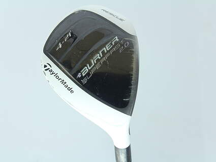 TaylorMade Burner Superfast 2.0 Hybrid 4 Hybrid 21* TM Reax 50 Graphite Ladies Right Handed 39.25 in