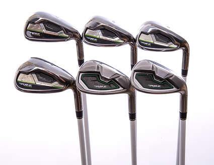 TaylorMade RocketBallz Max Iron Set 7-PW GW SW TM Matrix Program 45 Graphite Ladies Right Handed 35.75 in