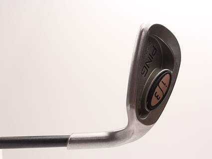 Ping i3 Oversize Wedge Sand SW Stock Graphite Shaft Graphite Ladies Right Handed 35 in