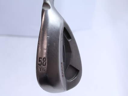 Ping Tour Gorge Wedge Lob LW 58* Thin Sole Ping CFS Steel Stiff Right Handed Black Dot 35.25 in