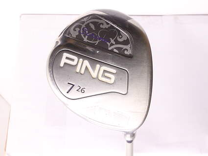 Ping Serene Fairway Wood 7 Wood 7W 26* Ping ULT 210 Ladies Lite Graphite Ladies Right Handed 41.25 in