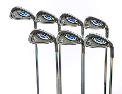 Ping i5 Iron Set 4-PW Ping Z-Z65 with Cushin Insert Steel Stiff Right Handed White Dot 38 in