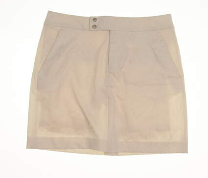 New Womens Ralph Lauren Golf Skort Size 2 Ivory MSRP $145 281607871001