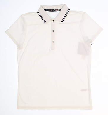 New Womens Ralph Lauren Golf Polo Small S White MSRP $90