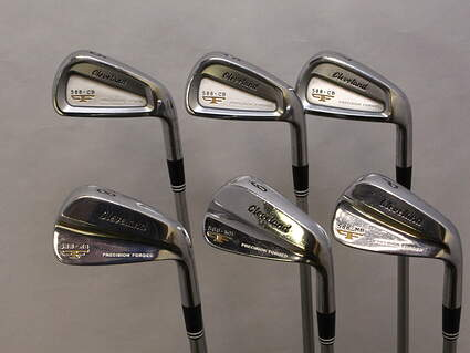 Cleveland 2012 588 Combo Iron Set 5-PW FST KBS Tour C-Taper 120 Steel Stiff Right Handed 38 in