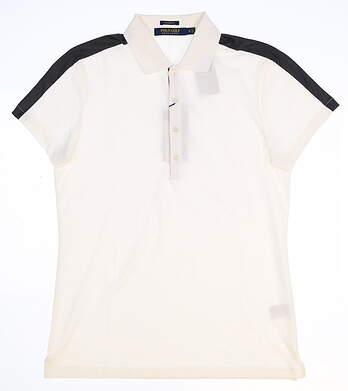 New Womens Ralph Lauren Golf Polo Small S White MSRP $85