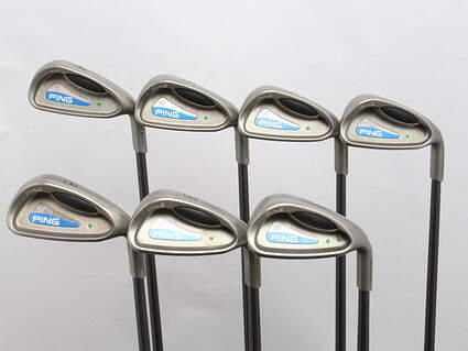 Ping G2 Iron Set 4-PW Ping TFC 100I Graphite Regular Right Handed Green Dot 37.75 in