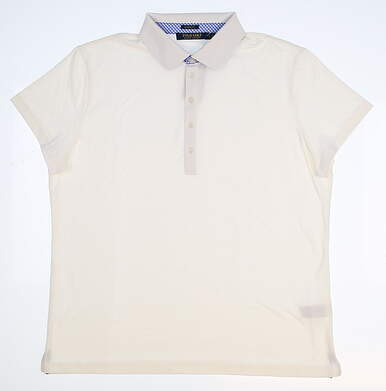 New Womens Ralph Lauren Classic Fit Golf Polo Large L White MSRP $89