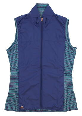 New Womens Adidas Wind Vest Small S Multi MSRP $75 AF0262