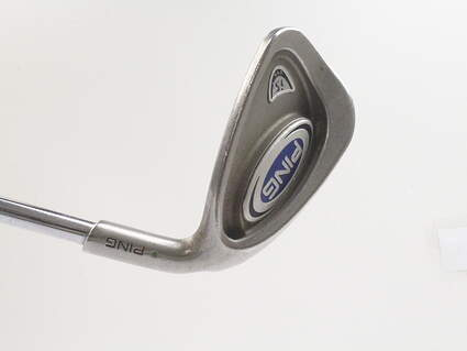Ping i5 Single Iron 8 Iron Stock Steel Shaft Steel Stiff Right Handed Green Dot 36 in