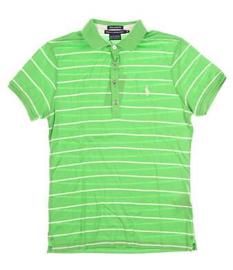New Womens Ralph Lauren Golf Polo Medium M Green MSRP $95 0462219