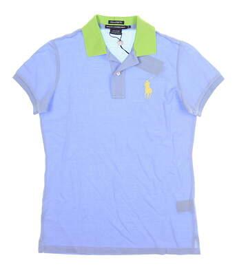 New Womens Ralph Lauren Golf Polo Small S Blue MSRP $90 0476348