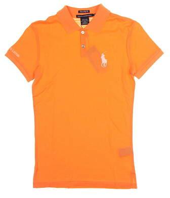 New Womens Ralph Lauren Golf Polo Small S Orange MSRP $98 0476418
