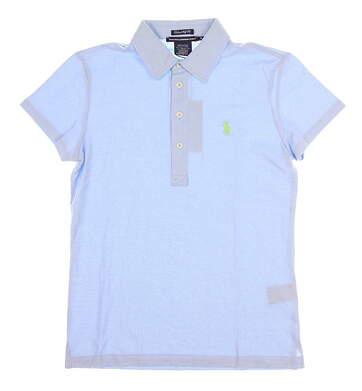New Womens Ralph Lauren Golf Polo Small S Blue MSRP $90 0476627