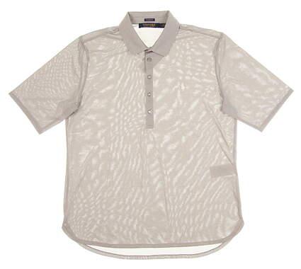 New Womens Ralph Lauren Golf Polo Medium M Gray MSRP $90