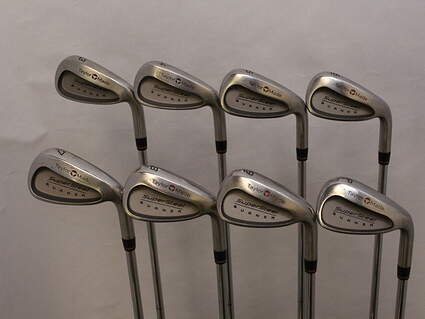 TaylorMade Supersteel Iron Set 3-PW TM R-80 Steel Steel Regular Right Handed 38 in