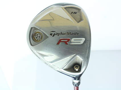 TaylorMade R9 TP Fairway Wood 3 Wood 3W 15* Fujikura Motore F1 Graphite Stiff Right Handed 42.75 in