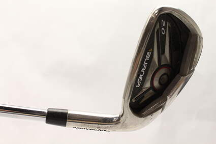 TaylorMade Burner 2.0 HP Single Iron 6 Iron Stock Steel Shaft Steel Stiff Right Handed 37.75 in