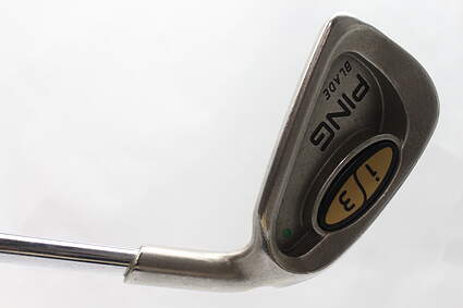 Ping i3 Blade Single Iron 3 Iron Ping JZ w/Cushin Insert Steel Stiff Right Handed Green Dot 39 in
