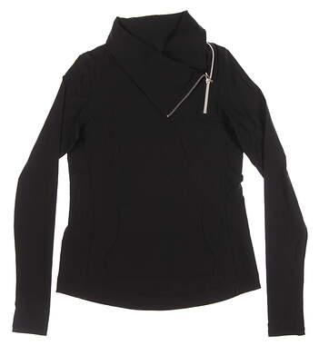 New Womens Jo Fit Jumper Jacket Small S Black MSRP $118