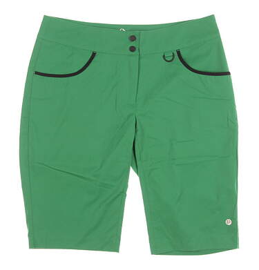 New Womens EP Pro Sport Envy Golf Shorts Size 10 Emerald Glow MSRP $85