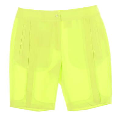 New Womens EP Pro Bellini Golf Shorts Size 2 Tequila Lime MSRP $75 8530JC