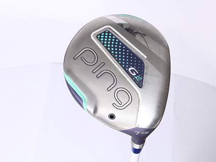 Ping G LE Fairway Wood 7 Wood 7W 26* ULT 230 Ultra Lite Graphite Ladies Right Handed 41.5 in