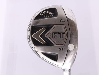 Callaway 2008 FT Fairway Wood 7 Wood 7W 21* Fujikura Sakura Graphite Ladies Right Handed 41.25 in