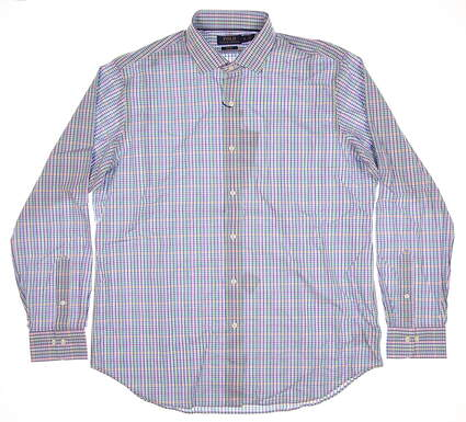 New Mens Ralph Lauren Button Up X-Large XL Multi MSRP $99