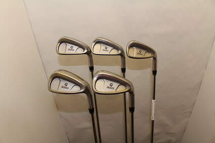 TaylorMade 320 Iron Set 6-PW Stock Steel Shaft Steel Stiff Right Handed 38 in