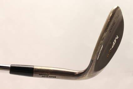 Mizuno MP-T 11 Black Nickel Wedge Lob LW 58* 10 Deg Bounce Dynamic Gold Spinner Steel Wedge Flex Right Handed 35.75 in