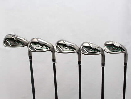 TaylorMade RocketBallz Iron Set 7-PW GW TM RBZ Matrix Ozik Program 55 Graphite Regular Right Handed 39 in