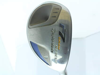 TaylorMade R7 Draw Hybrid 4 Hybrid 22* TM Reax 45 Graphite Ladies Right Handed 38.75 in