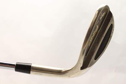 Ping Tour Black Nickel Wedge Lob LW 58* Stock Steel Shaft Steel Stiff Right Handed Black Dot 36 in