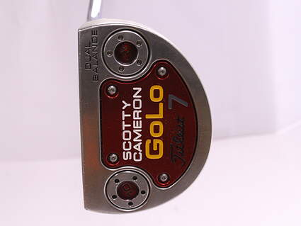 Titleist Scotty Cameron 2014 GoLo 7 Putter Steel Right Handed 33.5 in