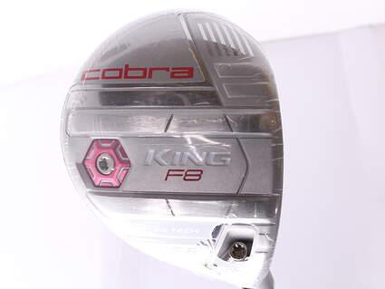 Mint Cobra King F8 Fairway Wood 5-6 Wood 5-6W 22.5* Aldila NV Pink 55 Graphite Ladies Right Handed 41.5 in