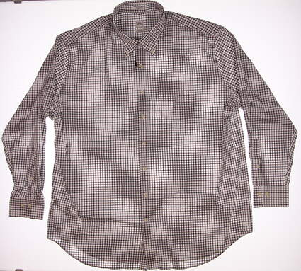 New Mens Peter Millar Button Up XX-Large XXL Multi MSRP $120