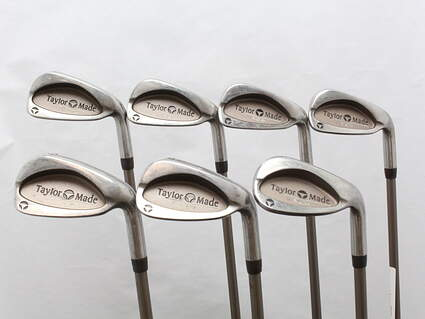TaylorMade Burner LCG Iron Set 5-PW SW TM Bubble 2 Graphite Ladies Right Handed 37.5 in
