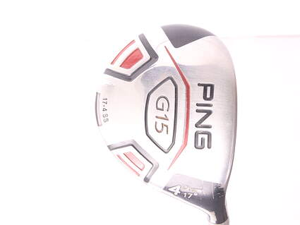 Ping G15 Draw Fairway Wood 4 Wood 4W 17* Ping TFC 939F Graphite Regular Right Handed 42.5 in
