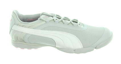 New Womens Golf Shoe Puma SunnyLite V2 Mesh Spikeless 8 Gray MSRP $80
