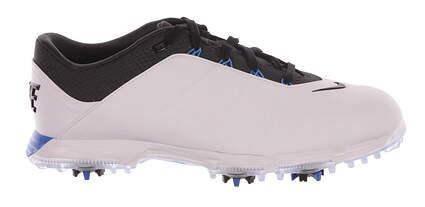 New Mens Golf Shoe Nike Lunar Fire 9.5 White/Blue MSRP $125